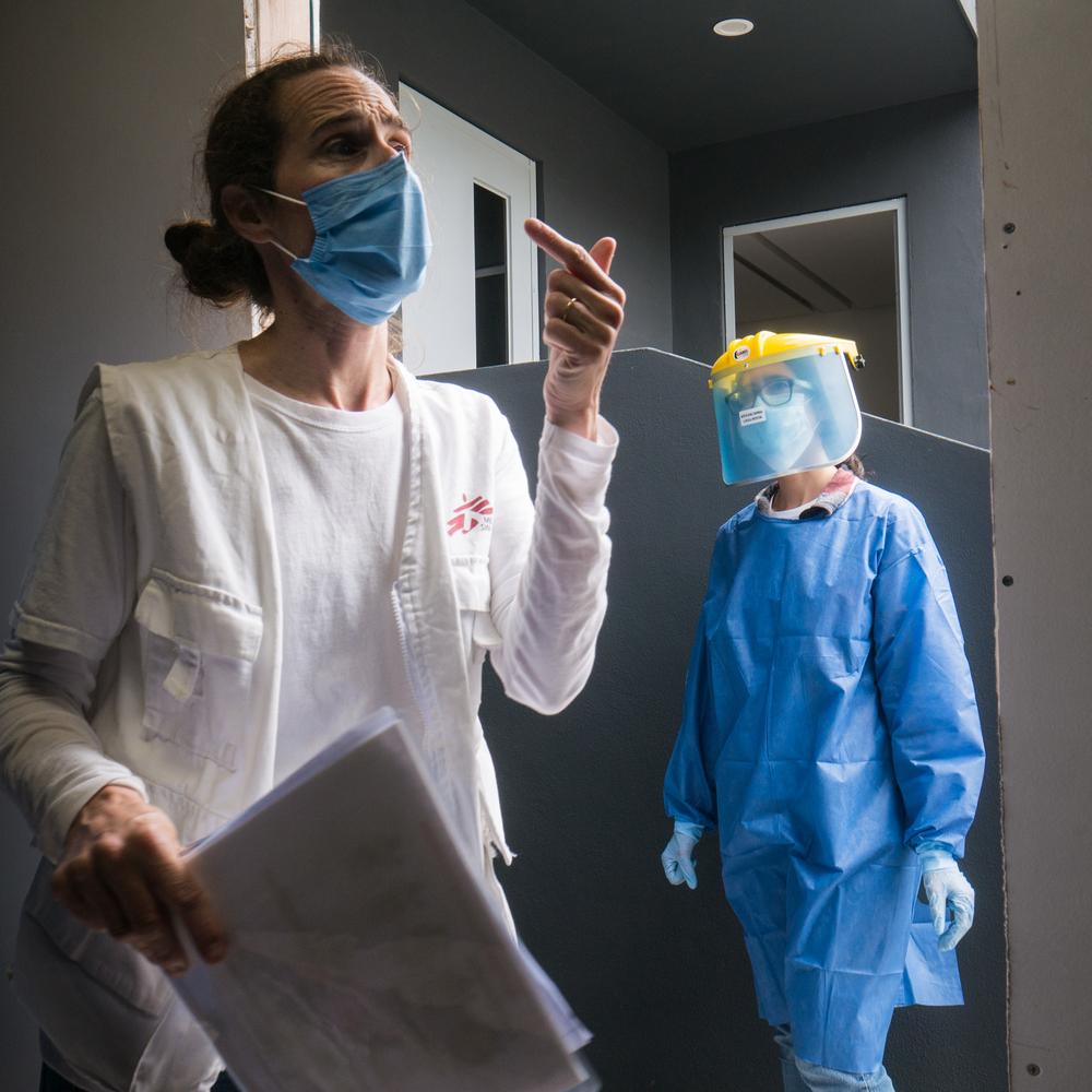 MSF começa a trabalhar em Tijuana em resposta à COVID-19
