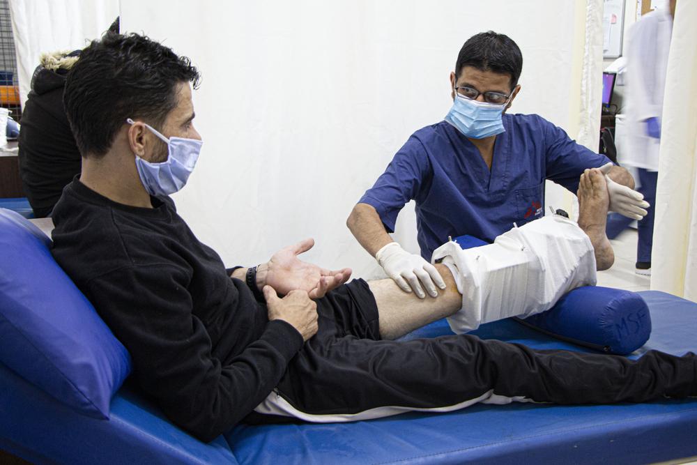 MSF expande atividades de apoio a feridos em Gaza