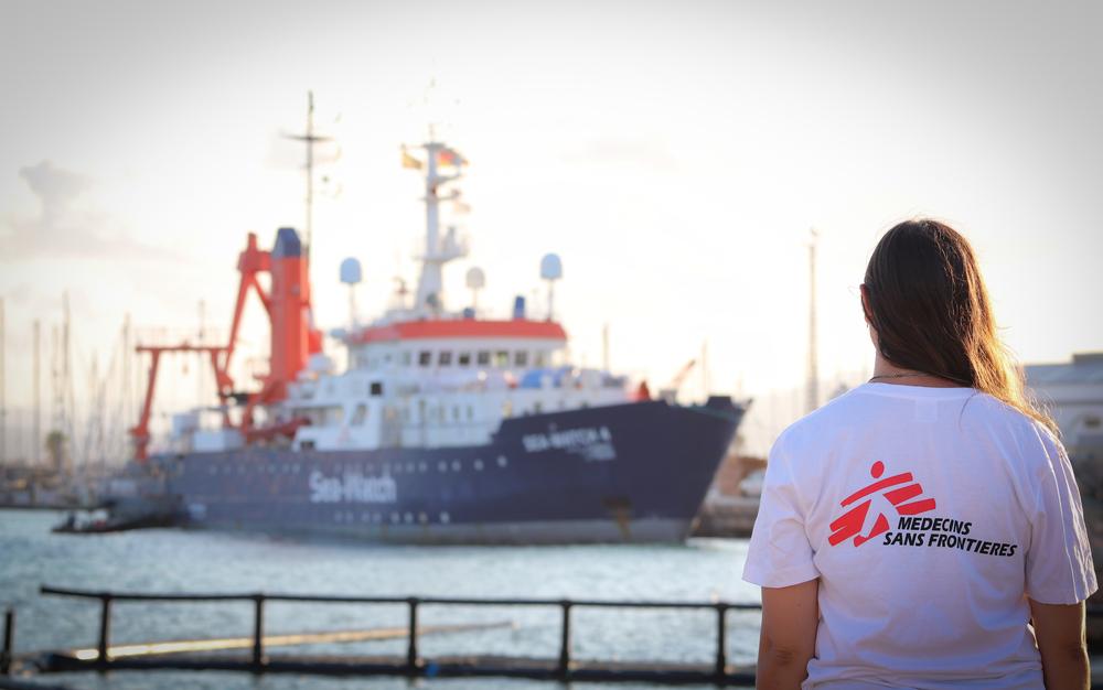 Sea-Watch e MSF anunciam colaboração para salvar vidas no mar Mediterrâneo
