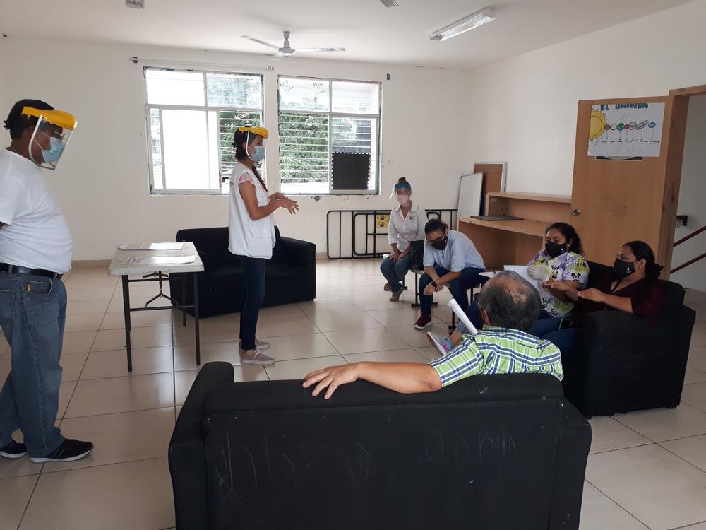 No México, MSF também atua com equipes móveis contra a COVID-19