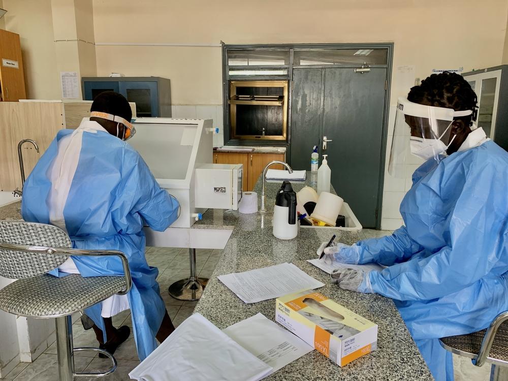 Sudão do Sul: jovens biotecnólogos desempenham papel importante na resposta à COVID-19