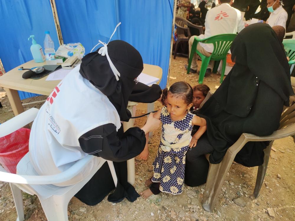 Desnutrição grave aumenta entre crianças em Abs, Iêmen