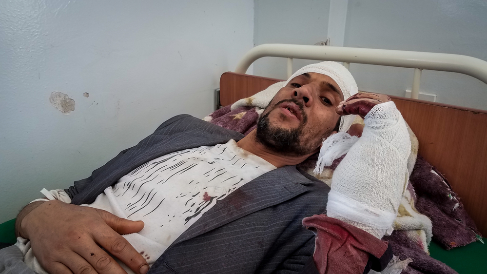 Iêmen: hospitais apoiados por MSF tratam vítimas de ataques aéreos em Sanaa