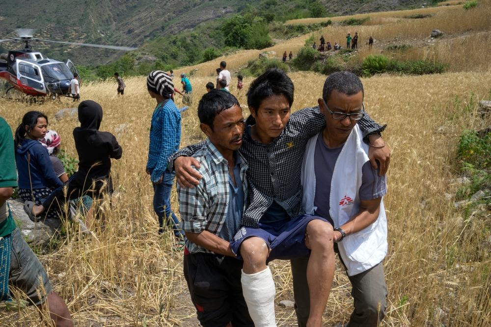 Terremotos no Nepal