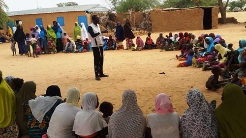 Níger: enchentes deixam centenas de famílias desabrigadas e aumentam o risco de doenças