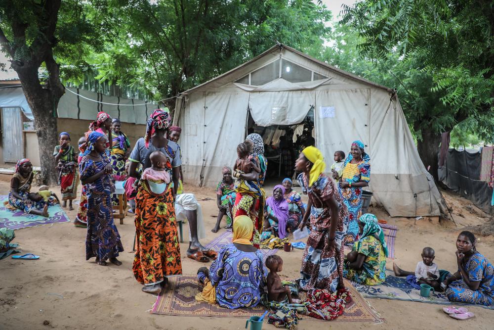 Vozes de mães do Níger