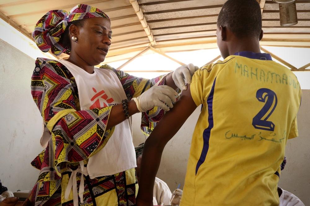 Níger: MSF apoia campanha de vacinação contra surto de meningite C