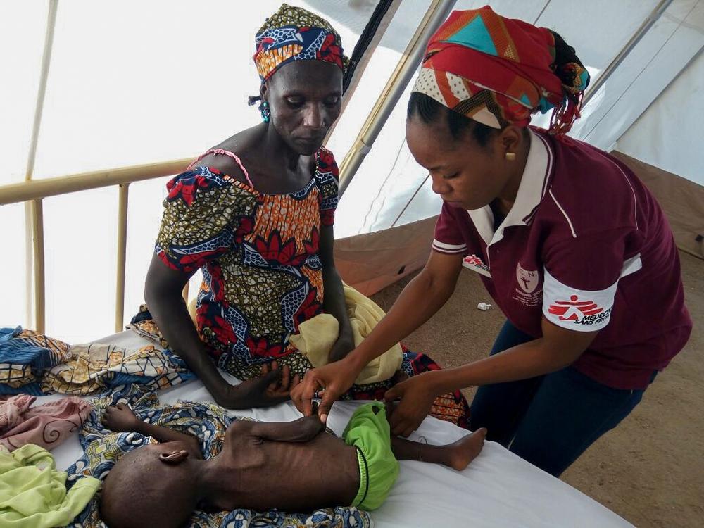 Diretor médico de MSF em Barcelona, Jean François Saint-Sauveur descreve a situação preocupante que observou em três projetos de MSF no estado de Borno