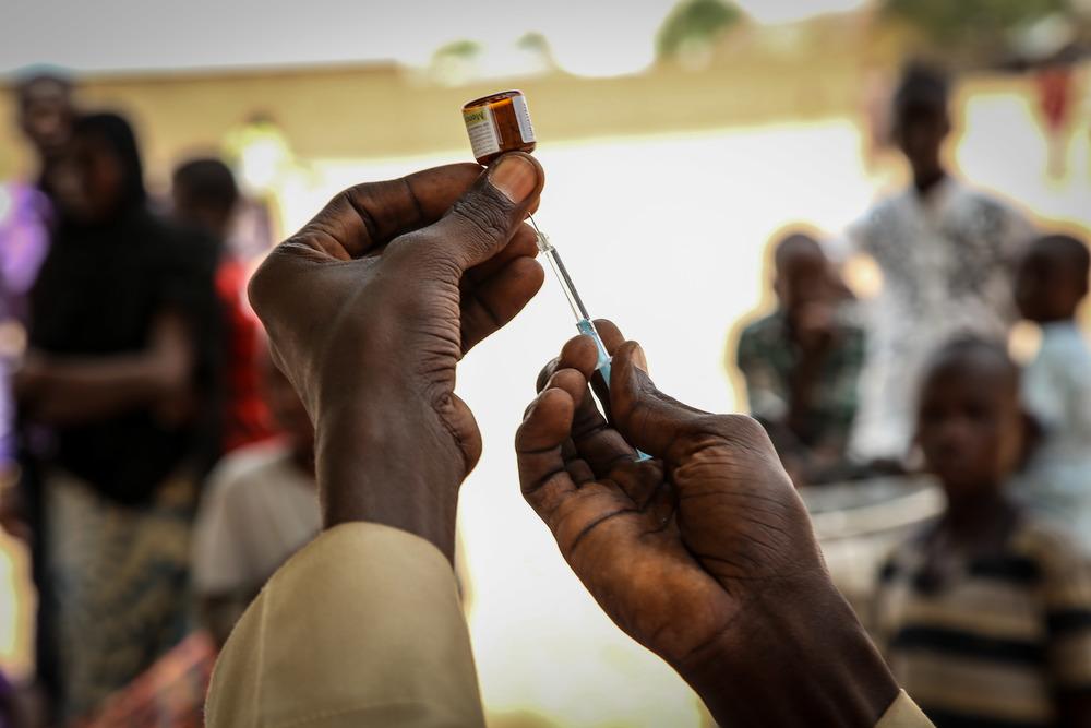 Vacinação conduzida no estado de Yobe, na Nigéria