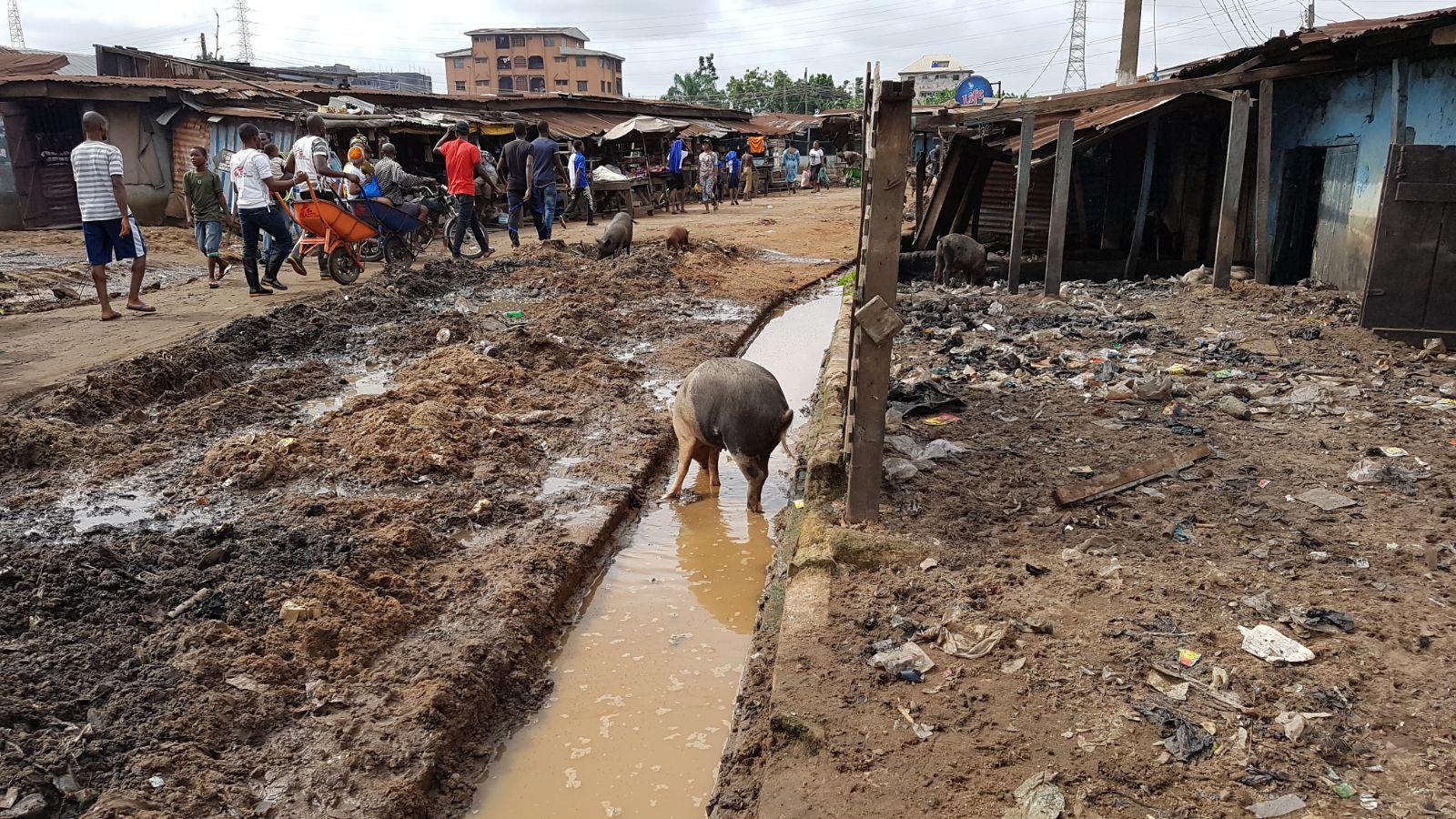 Buscando beleza no cotidiano de Onitsha, Nigéria