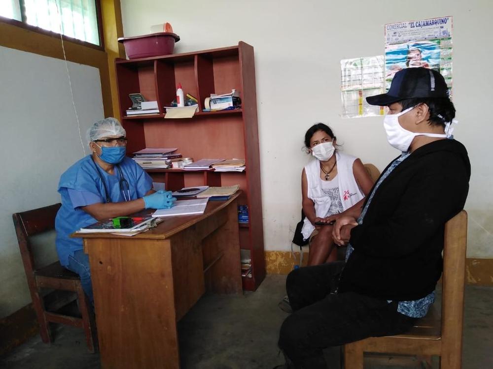 A logística desafiadora para atuarmos contra a COVID-19 na Amazônia peruana