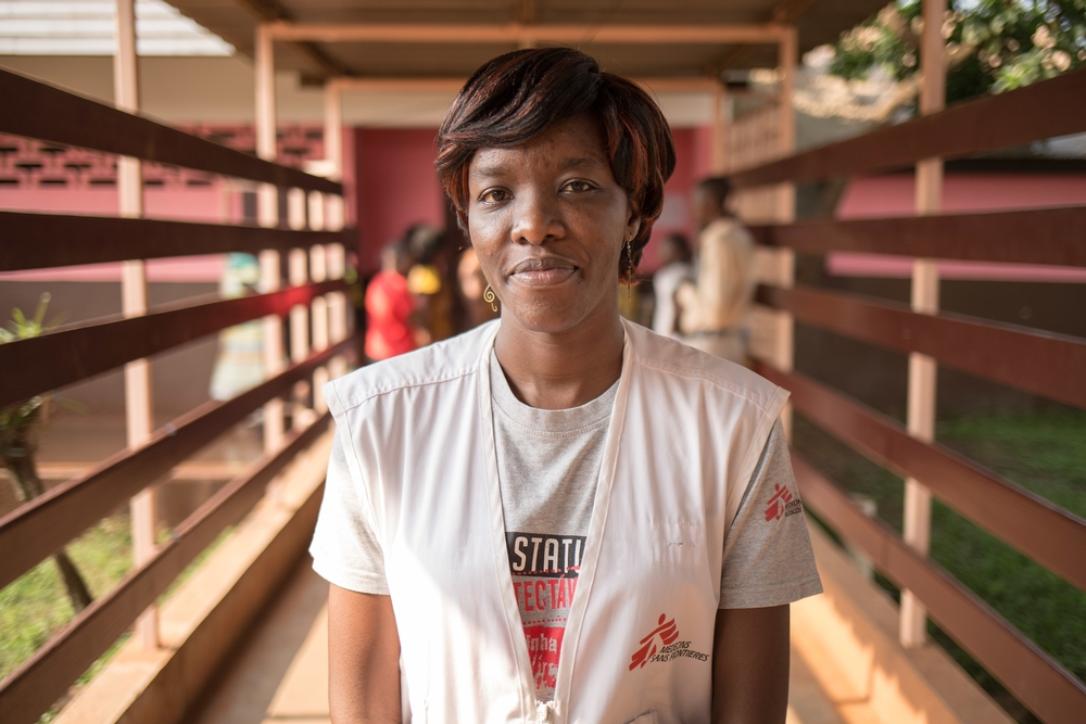"""HIV na República Centro-Africana: """"Se você oferecer cuidados, as pessoas virão"""""""