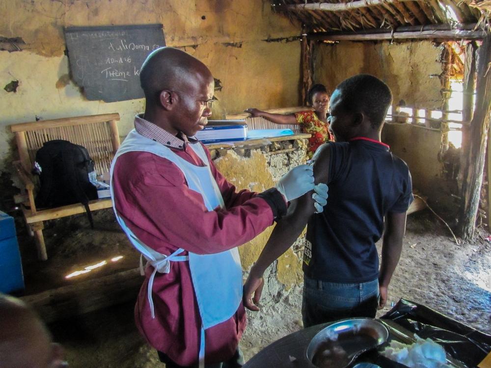 RDC: enfrentando desafios para combater o sarampo