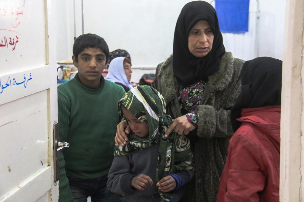 """Síria: """"Essas pessoas dependem de assistência"""""""