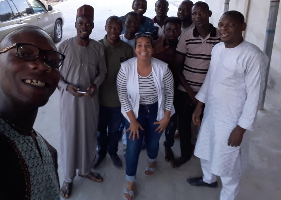 Trabalhando no sul e no norte da Nigéria