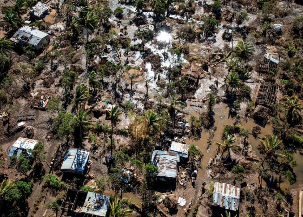 Moçambique: grande impacto em pouco tempo