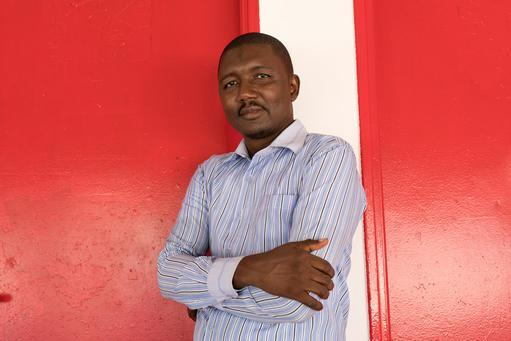 Alpha Diallo, especialista em água e saneamento.