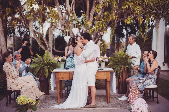 Ana e Felipe já eram nossos doadores e a aproveitaram a celebração do casamento para ajudar ainda mais o nosso trabalho. Valor arrecadado: R$ 6.270,25