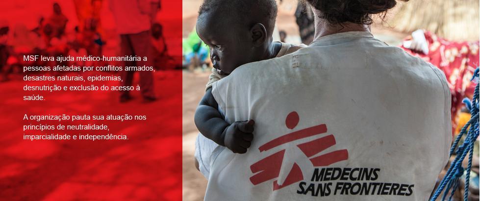 MSF leva ajuda médico-humanitária a pessoas afetadas por conflitos armados, desastres naturais, epidemias, desnutrição e exclusão do acesso à saúde. A organização pauta sua atuação nos princípios de neutralidade, imparcialidade e independência.