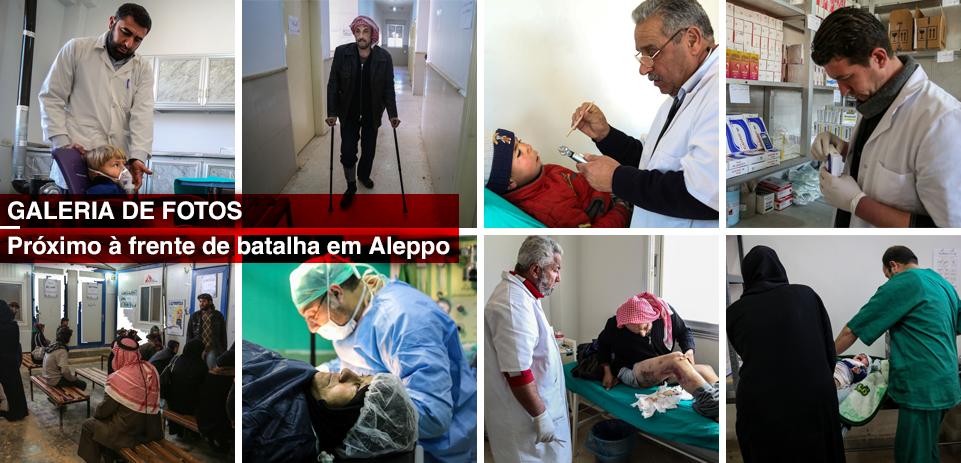 Galeria de fotos: Seis anos de guerra na Síria