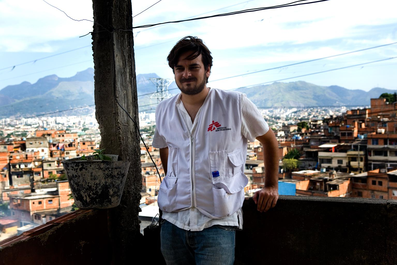 Douglas Khayat, psicólogo de Médicos Sem Fronteiras. (Foto: MSF)