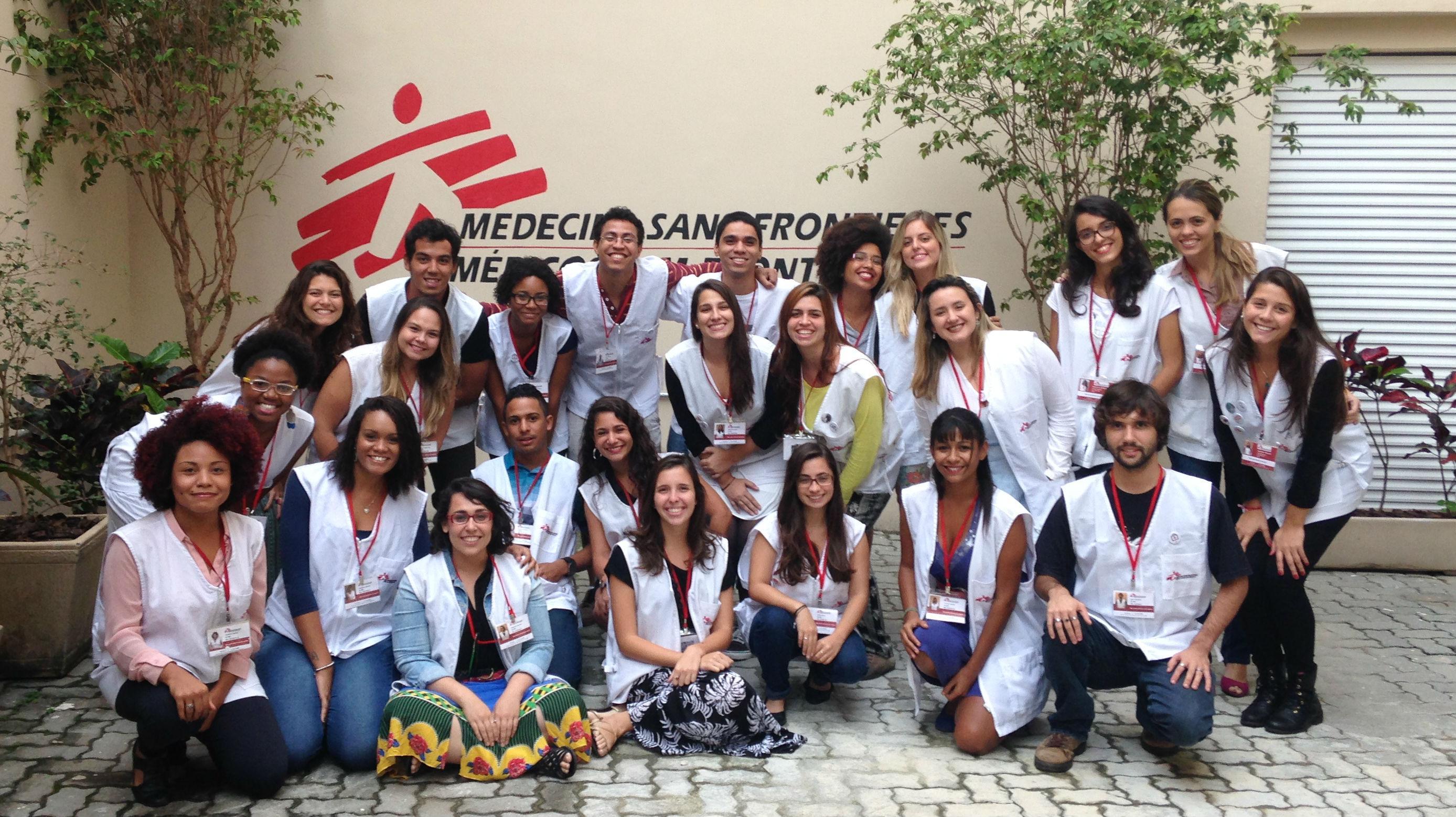 Médicos Sem Fronteiras está nas ruas do estado do Rio de Janeiro para captar novos Doadores Sem Fronteiras.