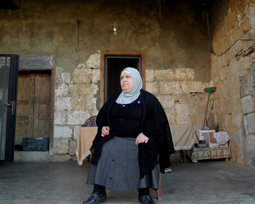 Najah vive no Líbano desde 2012. Seu sonho é reunir as pessoas que ama ao redor de uma mesa para uma refeição em família na Síria