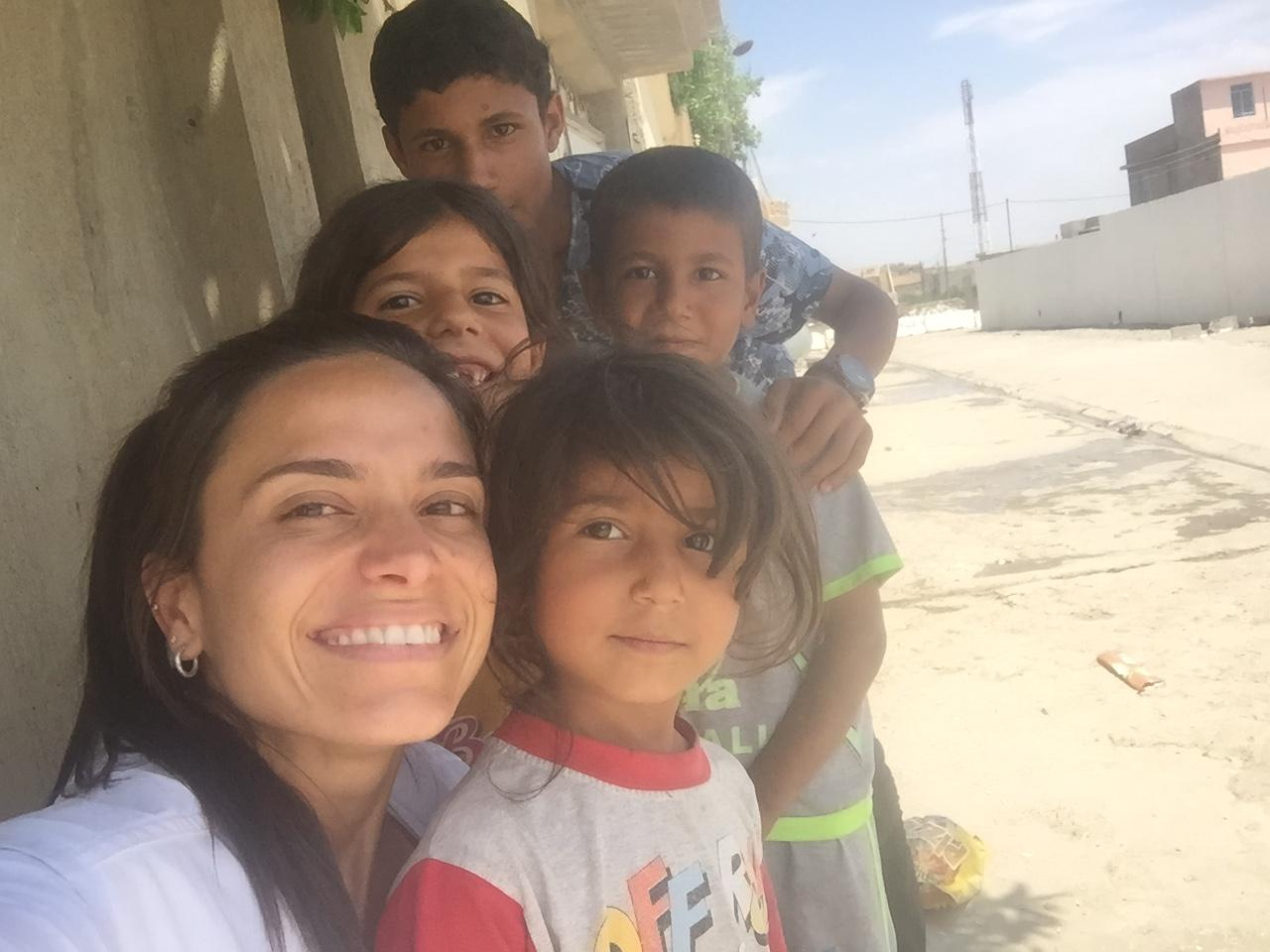 """Iraque: """"A menina que me deu uma lição"""""""