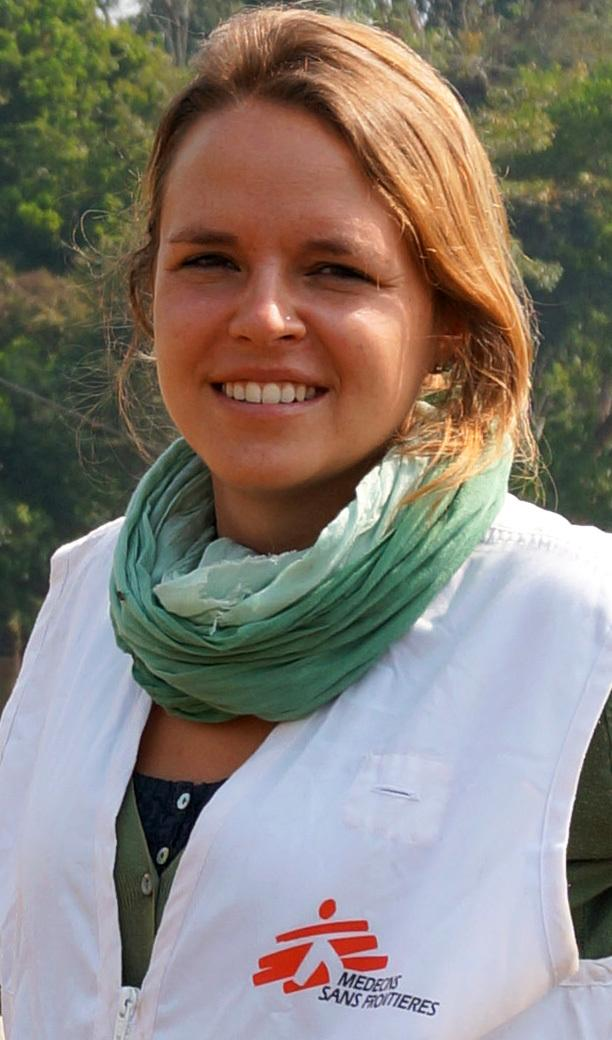 Jana Brandt, coordenadora-geral de MSF na Guiné Bissau (Foto: MSF)