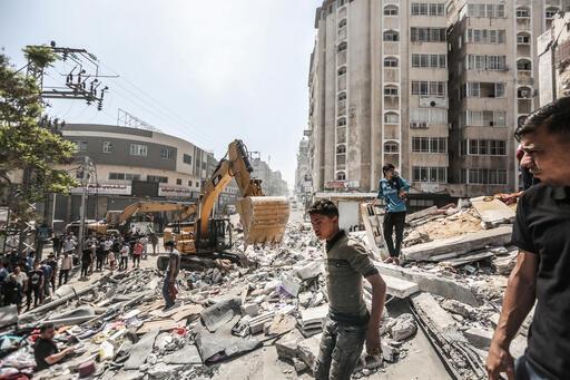 Faixa de Gaza, 2021, Foto: Fady Hanona