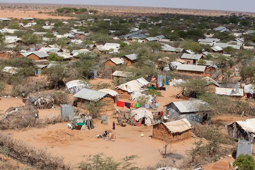 Campo de refugiados de Dagahaley, em Dadaab (Foto: Tom Maruko / MSF)