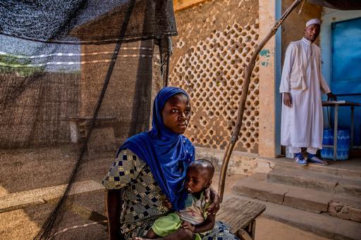 Desde março de 2015, MSF está implementando um programa para oferta de cuidados integrados e cuidados preventivos e curativos em Tama para todas as crianças com menos de 24 meses de idade. (Foto: Juan Carlos Tomasi/MSF)