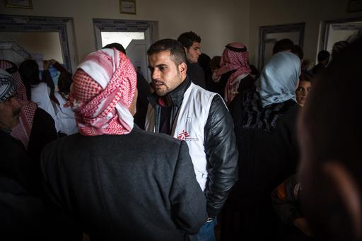 Clínica móvel de MSF visita Tel Afar, no Iraque (Foto: Baudouin Nach)