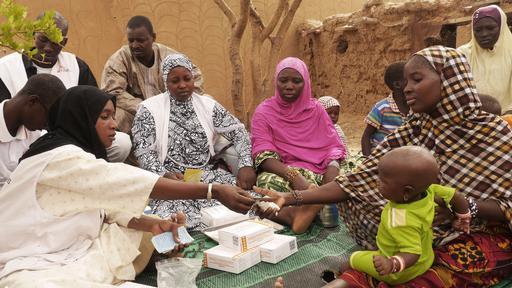Vacinação e quimioprevenção sazonal da malária em Gao, no norte do Mali (Foto: MSF)