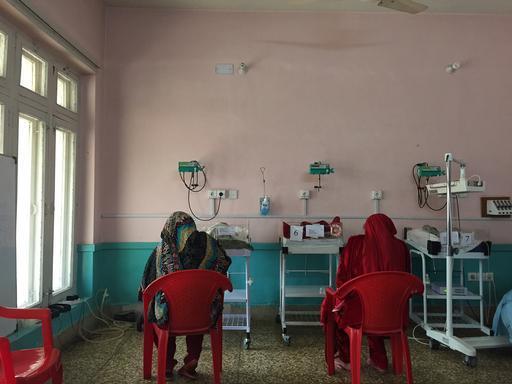 Hospital para mulheres mantido por MSF em Peshawar, no Paquistão (Foto: Shaista Aziz)