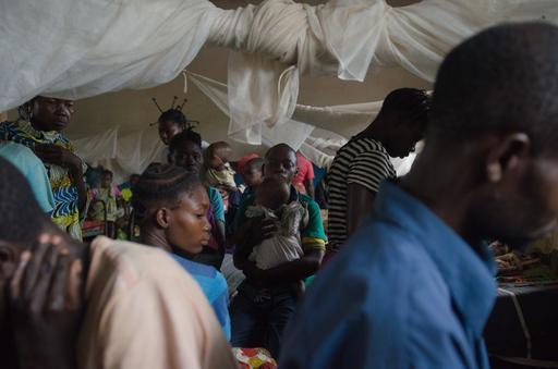Faltam medicamentos para tratar a malária nos centros de saúde das zonas de saúde de Pawa e Boma Mangbetu.