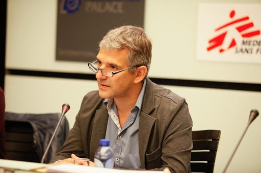 Jérôme Oberreit - secretário-geral internacional de MSF (Foto: Alex Yallop/MSF)