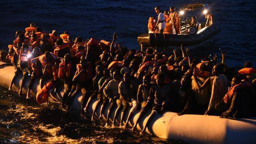 Equipes de MSF do Bourbon Argos resgataram 1.139 pessoas em 10 operações diferentes no dia 23 de junho no Mediterrâneo central (Foto: Sara Creta/MSF)