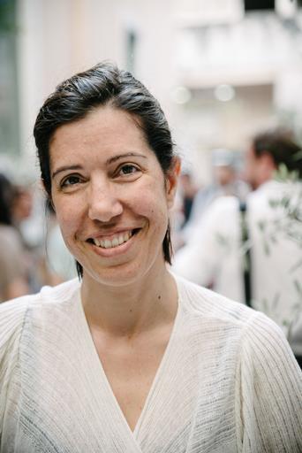 Ioanna Kotsioni, coordenadora do projeto para vítimas de violência de MSF em Atenas, na Grécia (Foto: BASTIAN FISCHER)
