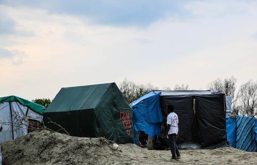 """Acampamento """"Selva"""", em Calais: violência e falta de espaço tornam condições de vida ainda mais difíceis (Foto: MSF)"""
