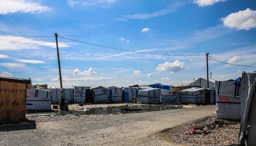 Campo 'Selva', na cidade de Calais, na França (Foto: Mohammad Ghannam – MSF)