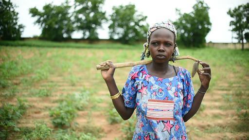 Aissa (Foto: Ikram N'gadi - MSF)