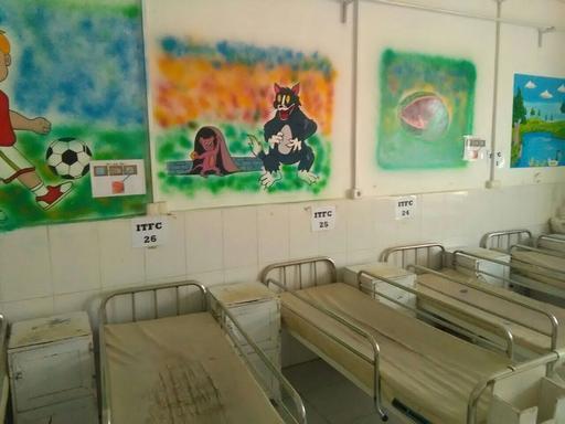 Hospital Boost em Lashkar Gah, na província de Helmand (Foto: MSF)