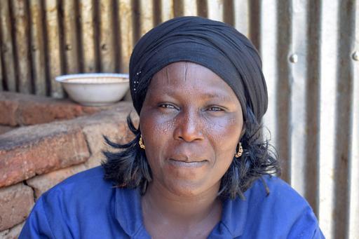Bernadette Ammaji, cozinheira da unidade de tratamento intensivo de MSF em Bokoro (Foto: Charlotte Morris / MSF)