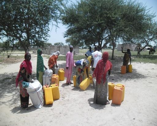 Mais de 200 famílias deslocadas chegaram a Diffa, no Níger (Foto: MSF)