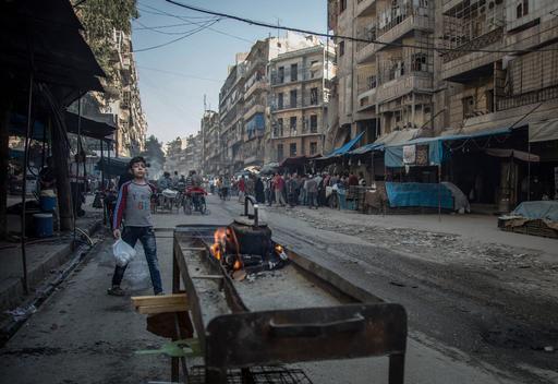 Leste de Aleppo: a violência agrava a falta de alimento e suprimentos médicos (Foto: Karam Almasri)