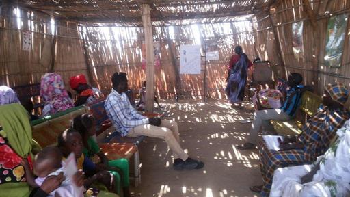 Hospital de MSF no Nilo Branco, Sudão (Foto: Phelippe Carr / MSF)