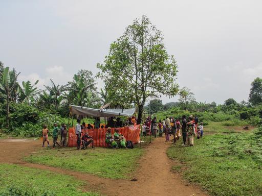 Kivu do Sul: grupos armados e obstáculos geográficos são grandes desafios. (Foto: MSF)