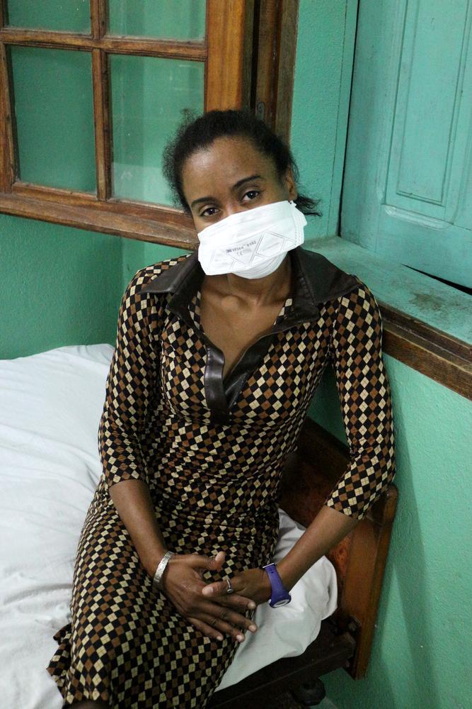 Innocente, de 33 anos, é médica em Madagascar. Foto: Celine Ronquetti