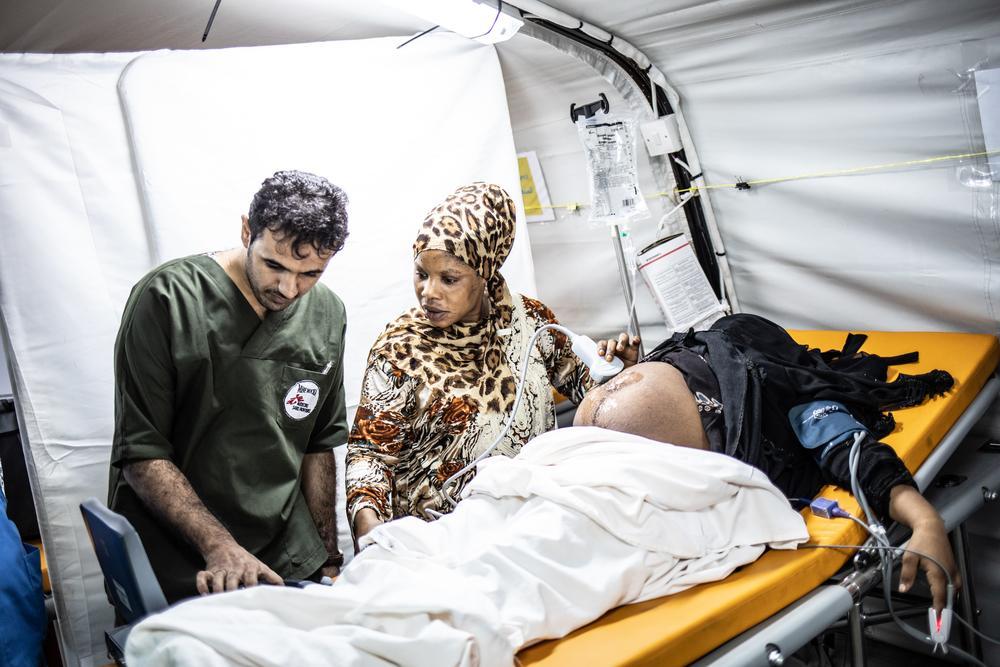 FURAHA BAZIKANYA WALUMPUMPU, Enfermeira/parteira (Foto: Agnes Varraine-Leca/MSF)